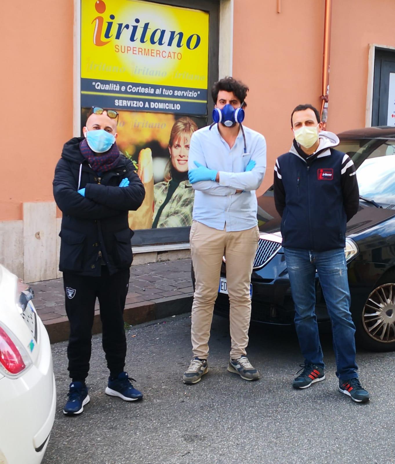 Città del Vento raccoglie bevande reidratanti e beni di conforto per gli infermieri dei reparti covid dell'ospedale Pugliese-Ciaccio di Catanzaro